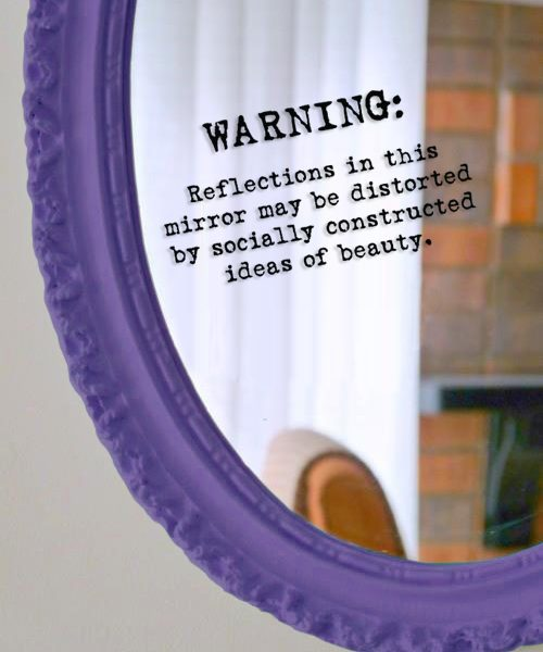 Mirror Sticker